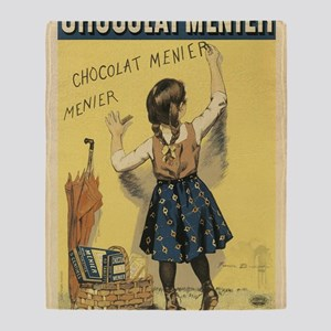 Chocolat Menier Throw Blanket
